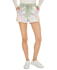 Juniors' Tie-Dye Lounge Shorts
