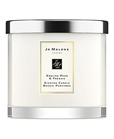 English Pear & Freesia Deluxe Candle, 21-oz.