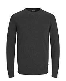 Men's Solid Long Sleeve Sweater