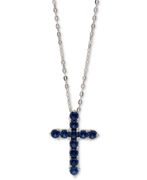 Cubic Zirconia Cross Pendant Necklace
