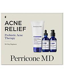 3-Pc. Acne Relief Prebiotic Acne Therapy 90-Day Set
