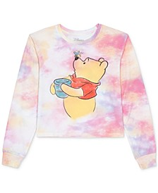 Juniors' Winnie The Pooh Tie-Dye Long Sleeve T-shirt