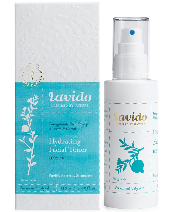 Lavido - Hydrating Facial Toner, 4.05-oz.