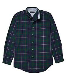 Men's Trentan Tartan Shirt with Magnetic Closures