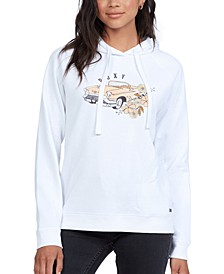 Juniors' Go For It Graphic-Print Hoodie
