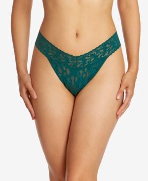 Hanky Panky Panties SIGNATURE LACE WOMEN'S 4811 ORIGINAL RISE THONG