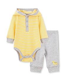 Baby Boys Tiger Bodysuit Pant Set