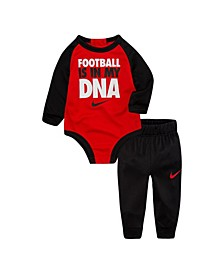 Baby Boys Bodysuit and Pants Set
