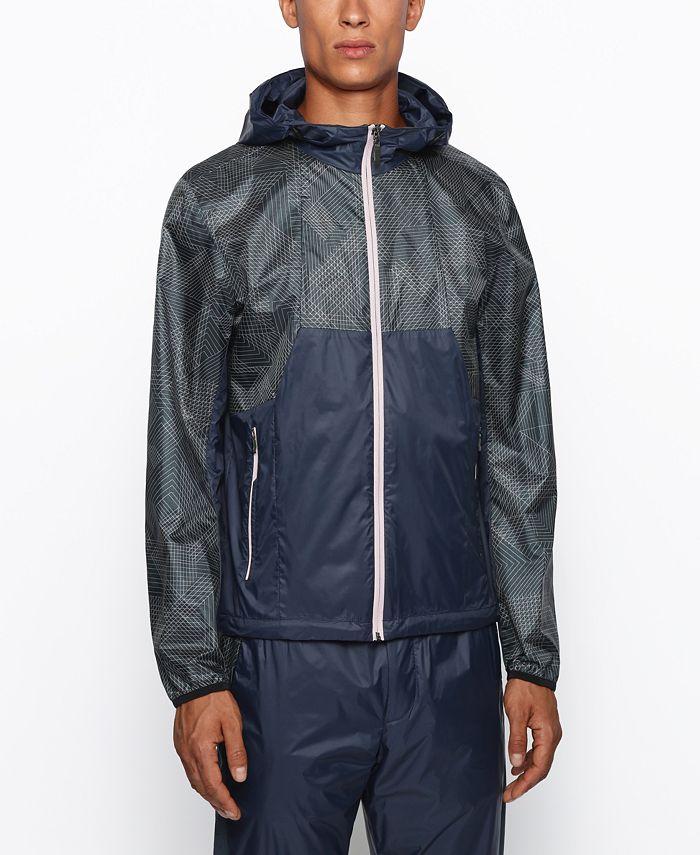 Hugo Boss - Men's J_Martez Regular-Fit Hooded Jacket