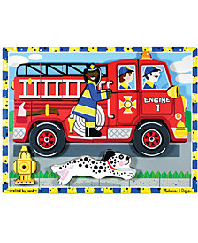 Melissa and Doug Kids Toy, Fire Truck Chunky Puzzle