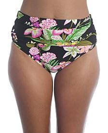 Moonlit Lotus Convertible Bikini Bottoms