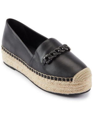 Karl Lagerfeld Platforms MOXY ESPADRILLE FLATS WOMEN'S SHOES