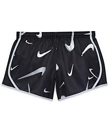 Dri-FIT Tempo Big Girls Swoosh Training Shorts