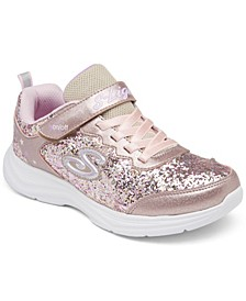 Little Girls S Lights: Glimmer Kicks - Glitter N' Glow Casual Sneakers from Finish Line