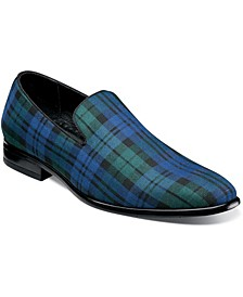 Men's Steward Plaid Slip On Loafers