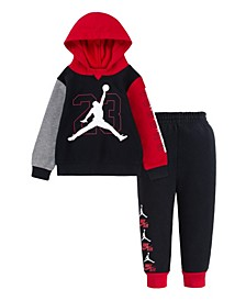 Little Boys BOF Fleece Set
