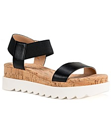 Melanyy Wedge Sandals, Created for Macy's
