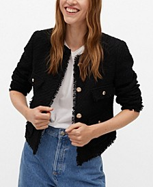 Women's Pocket Tweed Jacket