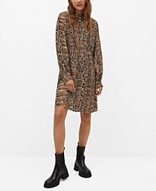 Women's Snake Print Dress