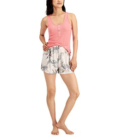 by Jennifer Moore Tank & Shorts Pajama Set, Created for Macy's