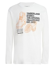 Big Boys Boot Schematic Long Sleeve T-Shirt