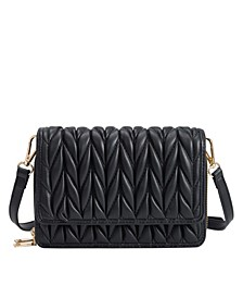 Giselle Small Vegan Leather Crossbody