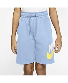 Big Boys Club Fleece Sportswear Shorts