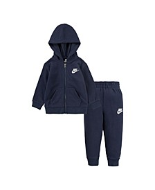 Baby Boys Zip Hoodie and Pants Set