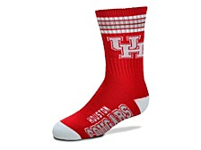 Alabama Crimson Tide Youth 4 Stripe Deuce Crew Socks