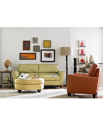 Almafi Leather Sofa Living Room Furniture Collection