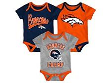 Denver Broncos Infant Champ Creeper Set