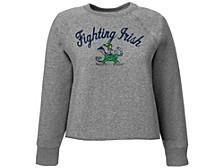 Notre Dame Fighting Irish Women's Cropped Crew Sweatshirt
