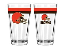 Cleveland Browns 16-oz. Double-Banded Pint Glass