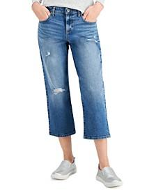 Plus Size Curvy Capri Jeans, Created for Macy's