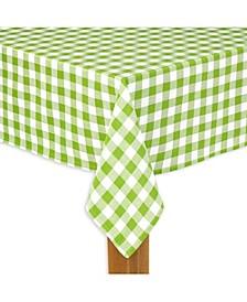 "Buffalo Check Green 100% Cotton Table Cloth for Any Table 60""X84"""