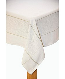 Carlisle 60x84 Tablecloth Silver