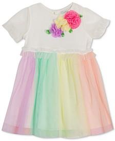 Baby Girls Rainbow Mesh Dress