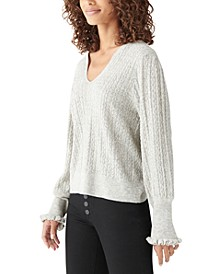 Relaxed Peasant Sweater