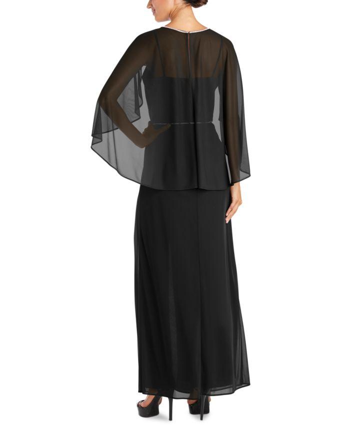 R & M Richards Rhinestone-Trim Gown & Reviews - Dresses - Women - Macy's