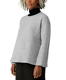 Round-Neck Relaxed Top