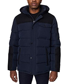 Men's Parka with Attached Hood