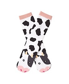 K. Bell Women's Cow Tube Slipper