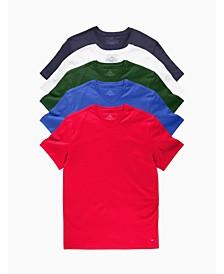 Men's V-Neck Undershirt, Pack of 5