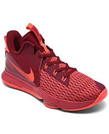 Men's LeBron Witness V Basketball Sneakers from Finish Line