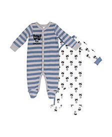 Boys 2 Piece Footie Set