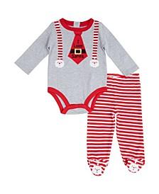 Boys I love Santa 2 Piece Set