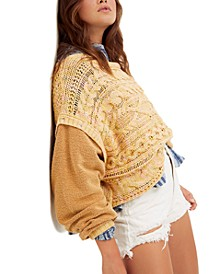 Honey Cable Knit Sweater