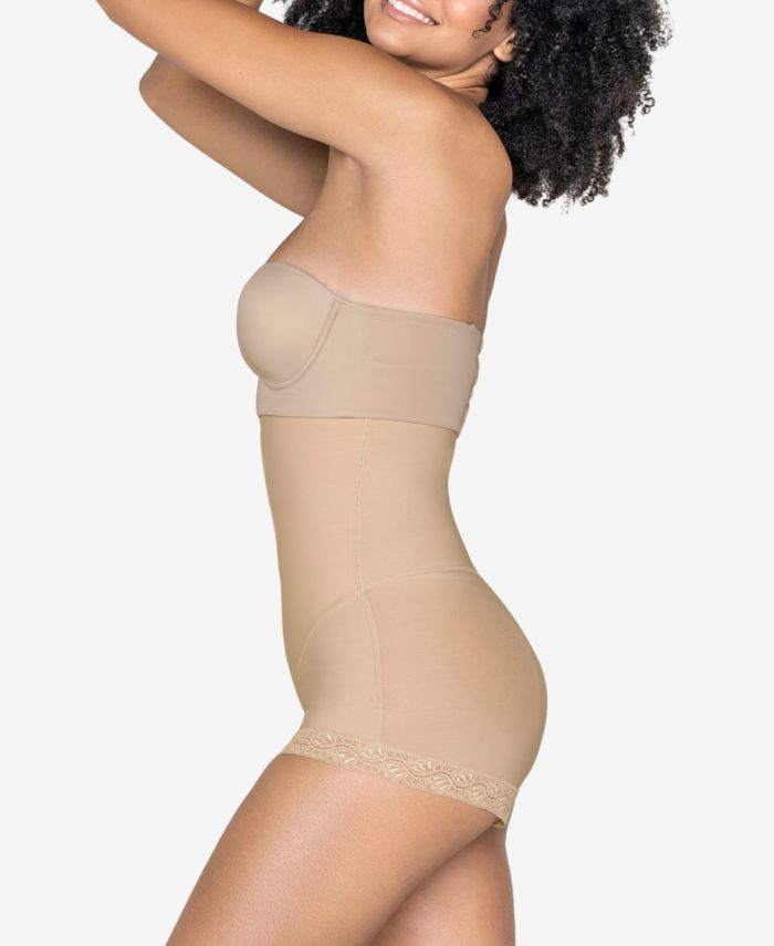 Leonisa Strapless Power Tummy Trimmer Faja Compression Shaper & Reviews - Shapewear - Women - Macy's