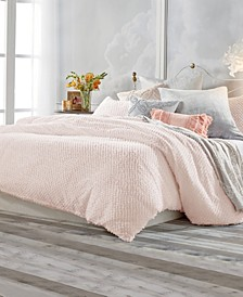 Dot Fringe Comforter Set, Full/Queen