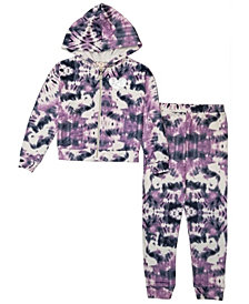 Big Girls Zip Jacket and Jogger Pant